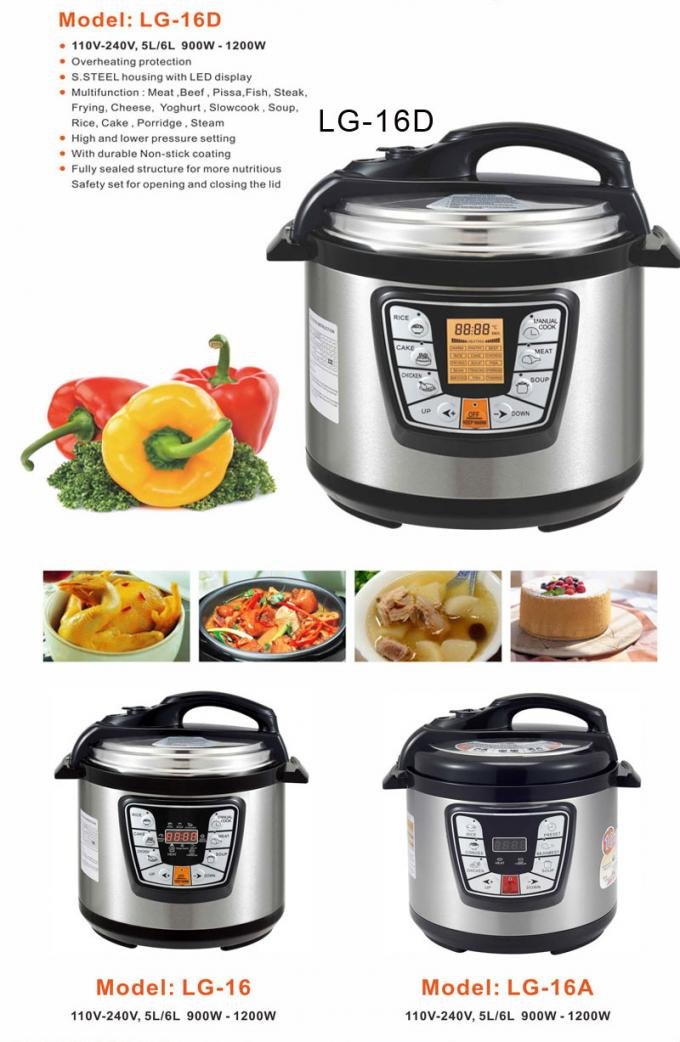 The best electric modern professional perfect food pressure cooker cookware