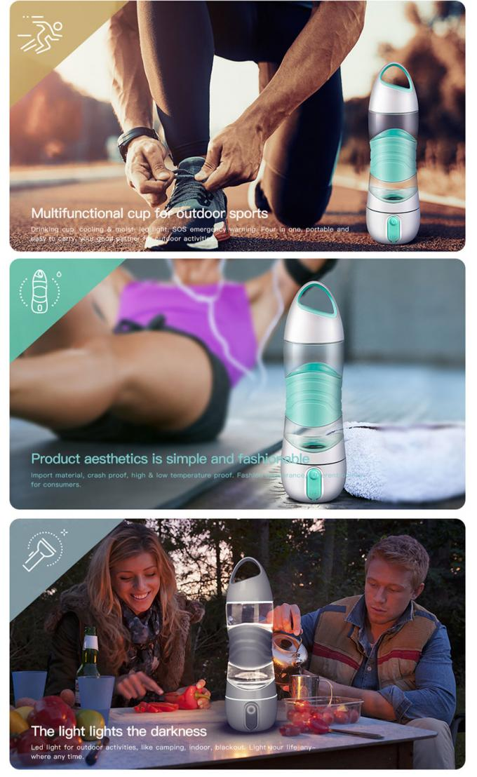 DIDI LED  Drink humidifier Bottle / New electric sport water bottle welcome custom logo