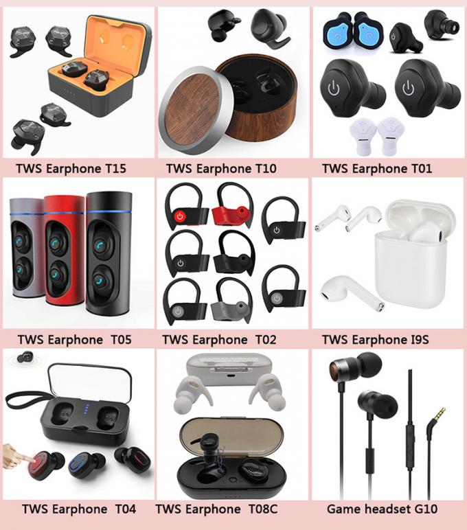 Noise Cancelling Wireless Bluetooth Earphones Phone Headset Tws Earbuds T15 TWS