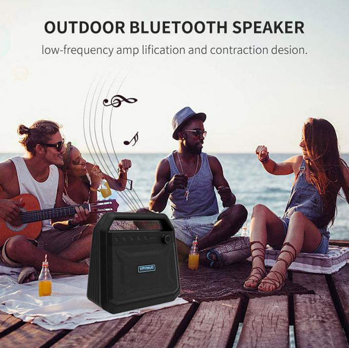 Outdoor Portable Wireless Bluetooth Speakers Karaoke Horn K10A 8000mah Battery