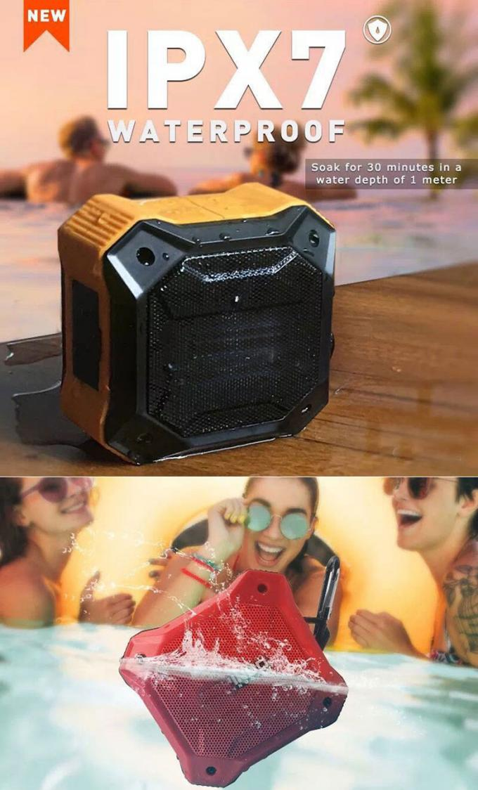 Iron Man Portable Wireless Bluetooth Speakers D10T Military Materials 800mah Battery