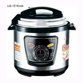 China 5 Quart Electric Pressure Cooker , Electronic High Pressure Cooker Knob Switch Control supplier