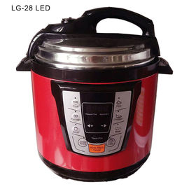China LG-28 5L 6L Electric Pressure Cooker Intelligent Built In Smart Programs LCD Display supplier