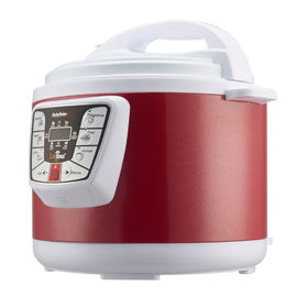 China Stainless Steel 6 Qt Electric Pressure Cooker 800W Aluminum Alloy Inner Material supplier