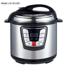 China Adjustable 6L Digital Pressure Cooker , Kitchen Pressure Cooker Progrommable supplier