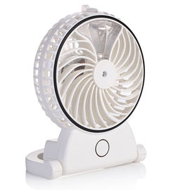 China Anti Slip USB Powered Desk Fan Ultrasonic Frequency Multifunctional Indicator supplier