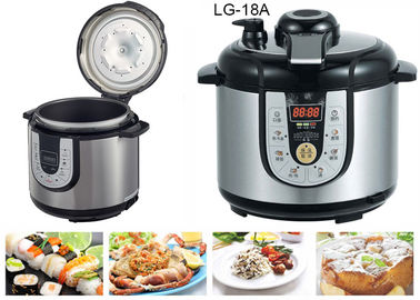 China 5 Litre All In One Pressure Cooker Slow Cooker 10 QT Temperature Adjustable supplier