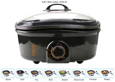 China 5 Liter Electric Multi Cooker , Power Pot Pressure Cooker 1200-1400W Overheat Protection supplier
