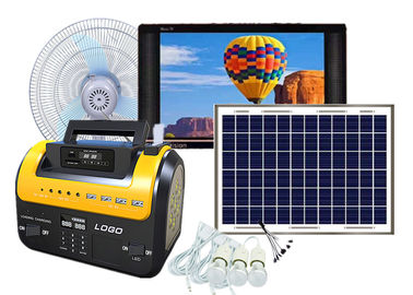 China 12V DC Payg Solar System Low Consumption With Solar Fan For No Power Grid Area supplier
