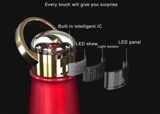China EW-DD3 Crystal diamond LED thermos bottle luxury multifunction oem water bottle eco friendly supplier