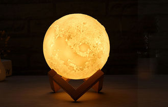 China White Surface Contemporary Table Lamps Touch Pat Vibration 3 Lighting Color supplier