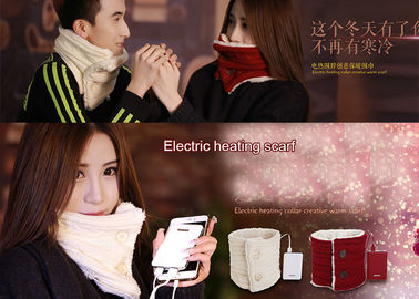 China Winter Fan And Heater Scarf 40-46 Degree Decorative 8W Max Power FANW-08 supplier