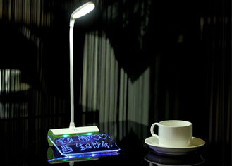 China Rechargeable Message lamp desktop table 3d led night light supplier