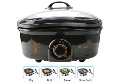 China Multifunctional 8 In One Multi Cooker PP Shell Base Adjustable Temperature supplier