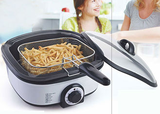 China Steaming Electric Multi Cooker , All Purpose Cooker Variable Temperature Controls Smokless supplier