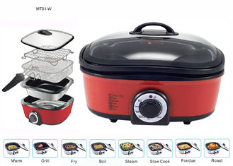 China Time Efficient Non Stick Multi Cooker Enhance Natural Food Flavors Round Shape supplier