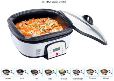 China Adjustable Electric Multi Cooking Pot 6QT , Multi Cooker Electric Frying Pan Large Capacity supplier