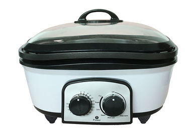 China Non Stick Electric Multi Cooker Heat Resistant Cooking Body Large Capacity supplier