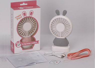 China Anti Slip Mini Portable USB Fan Blower ABS Plastic Material Customized Color supplier