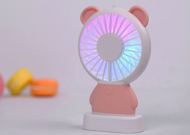 China Powerful Silent USB Desk Fan Li Polymer Battery Humanized Hand Design Multifunctional supplier