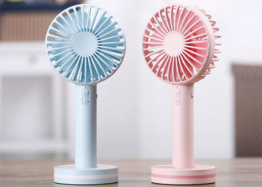 China Plastic Mini Portable USB Fan , Mini Portable Battery Fan High Capacity 18650 Battery supplier