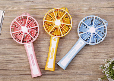 China Lemon mini fan,portable mini battery operated powerful fan for kids supplier