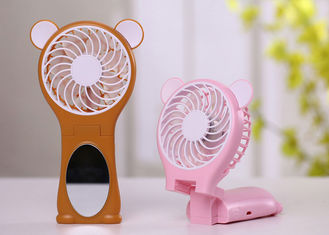 China Souvenir Small Hand Held Fans Battery Operated , Rechargeable Battery Powered Fan supplier