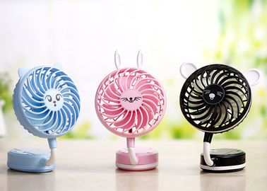 China Plastic Small Battery Operated Fan Mini Toy 5v Dc Cooler Strong Wind Multi Colors supplier