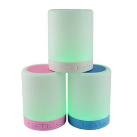 China Smart LED Light Portable Bluetooth Speakers Blackweb 2.402-2.480 GHz Frequency 3W supplier