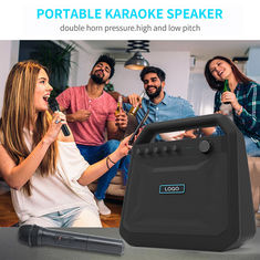 China Outdoor Portable Wireless Bluetooth Speakers Karaoke Horn K10A 8000mah Battery supplier