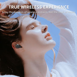 China Comfortable Bluetooth Headset Wireless Stereo , T15 Tws Bluetooth Stereo Headset supplier