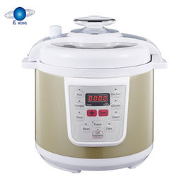 China Porridge Power Electric Pressure Cooker Non Stick Coating Inner Pot Smart Control distributor