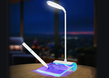China 360 Twist Bright LED Desk Lamp Flexible Metal Hose No Radiation Eyes Protection distributor