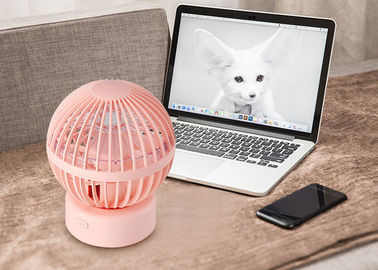 China Balloon Desk Small Battery Operated Fan Usb Portable Cooler 3 Air Wind Speed distributor