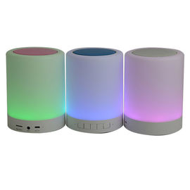 China LED Light Smart Portable Wireless Speaker Bose Soundlink Revolve 1200MAH Battery distributor