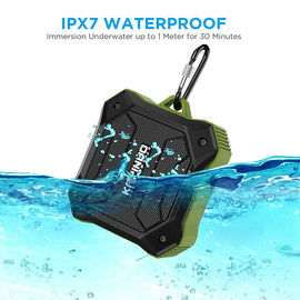 China D10T Ipx7 Portable Bluetooth Speakers 800mah Battery Low Bass Support TF Card factory