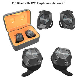 China Stereo Wireless Bluetooth Earphones T15 Earbuds Comfortable Design For Running factory