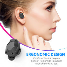 China T15 Wireless Bluetooth Earbuds , Noise Reduction Earphones For Portable Media Player factory